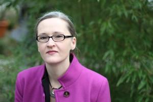 Hebamme Britta Heilemann in Frankfurt