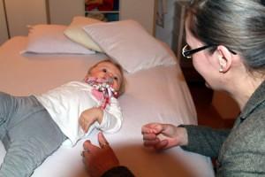 Heilpraktikerin mit Kind