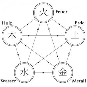 TCM Die Fünf Elemente